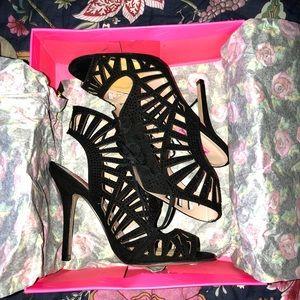 Lexxe Black Heels sz 8